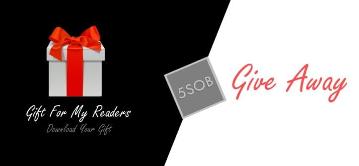 Give Away - 50 Shades Of Blogging