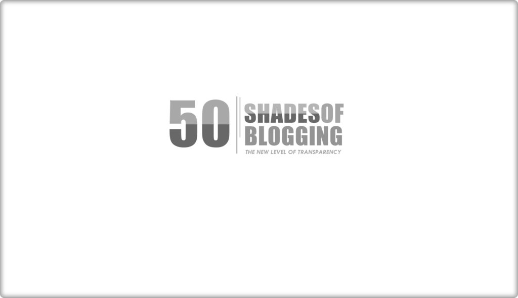 50 Shades Of Blogging Cover