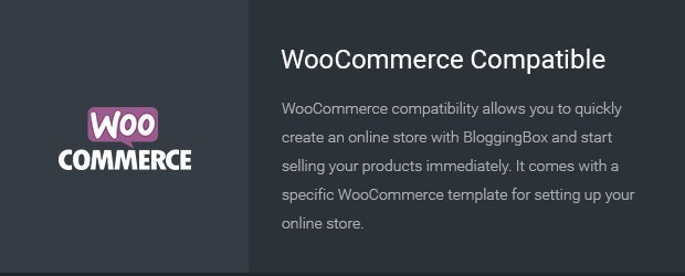 09-WooCommerce-Compatible - BloggingBox Theme Reviews