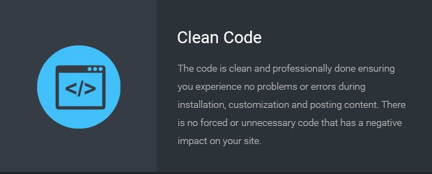 13-Clean-Code - BloggingBox Theme