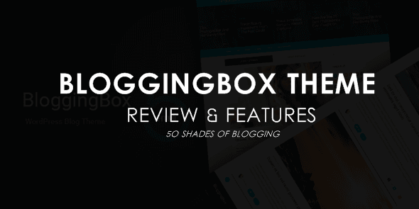BloggingBox Theme Review - MyThemeShop