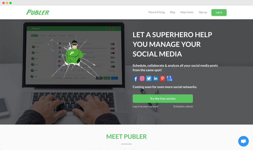 Publer - Social Media Management Tool